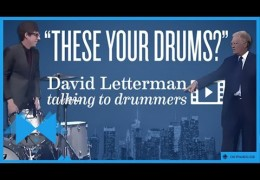David Letterman Loves Your Drums