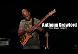 Anthony Crawford Demonstrates Solo Bass Tapping Technique