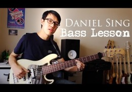 New GospelChops Bass Lesson featuring Daniel Sing!