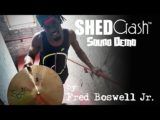 New 18″ SHED Crash™ Cymbal Sound Demo w/ Fred Boswell Jr!