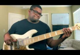 "Kirk Franklin ""Love Theory"" Bass Cover by Travis Dykes"