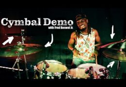 GospelChops Cymbals Sound Demo with Fred Boswell Jr.