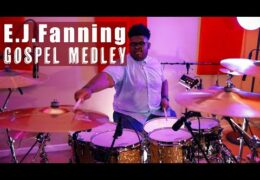 17-Year-Old E.J. Fanning Plays a Gospel Drum Medley