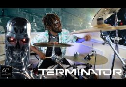 "Xavier Ware Drum Cover of ""Terminator"" by Shedtracks"